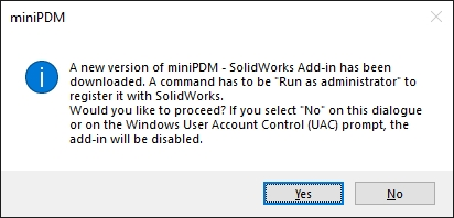 SW tips > SolidWorks Add-in Setup